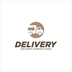 Delivery logo vector template
