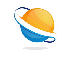 Circle Space Planet