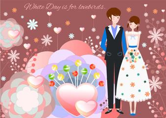 Valentines Day Vector Background