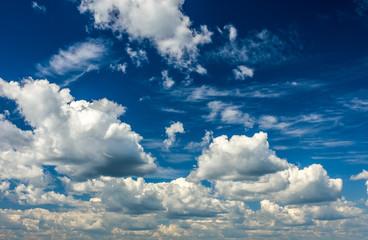 Небесный пейзаж с облаками