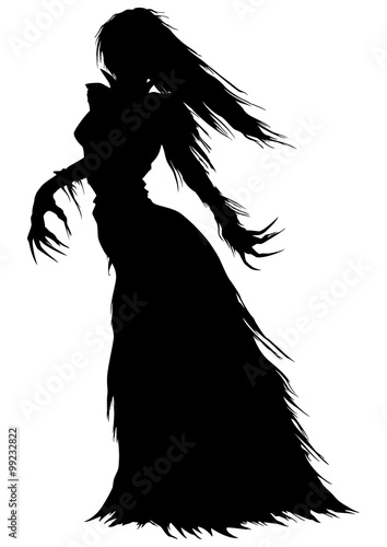 SORCERER, WITCH, WIZARD, HALLOWEEN, BLACK, SILHOUETTE - Public ...