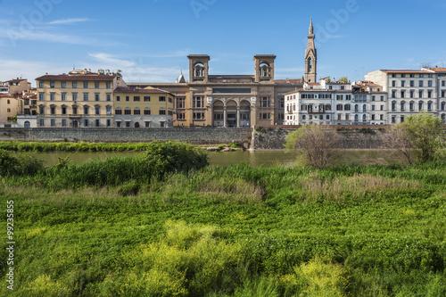 Fototapete City skyline of Florence, Tuscany, Italy