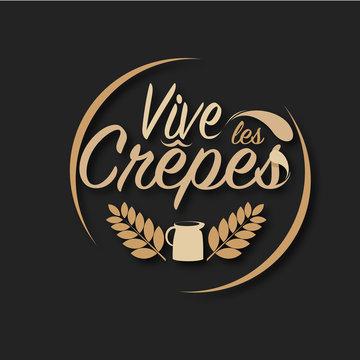 crêpes, illustration