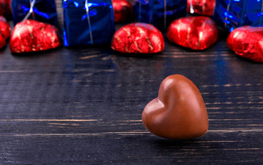 Chocolate candy and gift