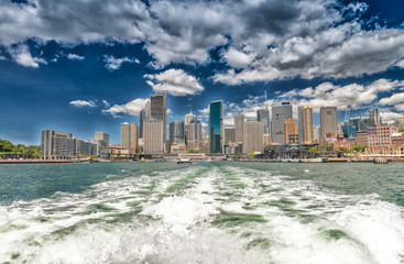 Sydney, Australia. Panoramic city skyline