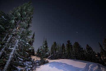 The night sky of Siberia