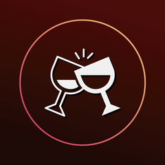 birthday drink icon