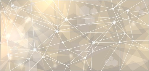 abstract mesh network background