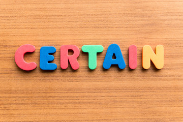 certain colorful word