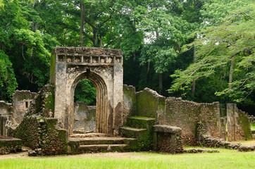 Photo sur Plexiglas Ruine Kenya, Gede ruin