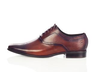 Brown men shoe