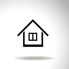 Home vector icon.
