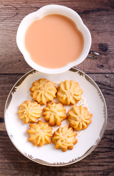 Maple syrup butter cookies