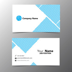 business name card template vector illustration eps 10