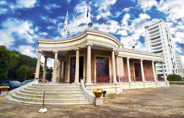 the town hall of Nicosia Cyprus