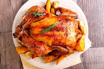 Roasted citrus chicken