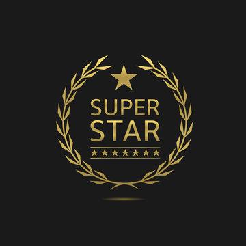 Super star badge