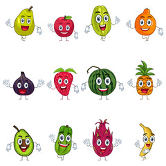 Fruit in Characters