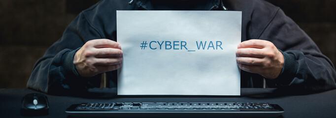 Using cyber war
