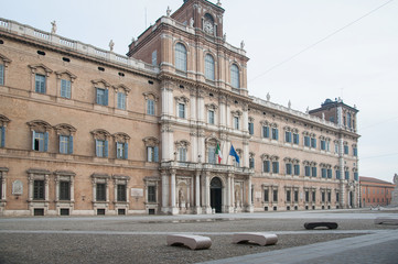 The ducal palace of Modena