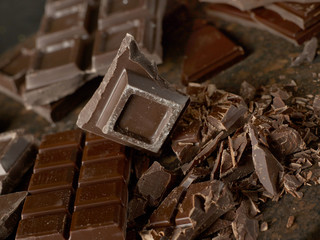 Chocolate close-up