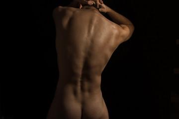 Нoung naked man