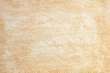 Abstract background stained yellowed paper surface