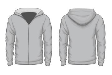 Hoodies shirt vector template