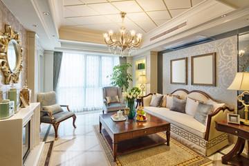 interior of luxury living room