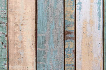 Old color wood texture