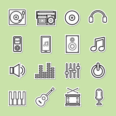 line music icon