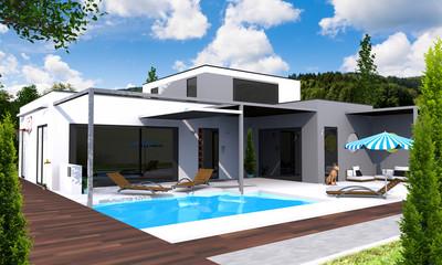Concept maison 3D