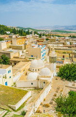 The view with old mosque