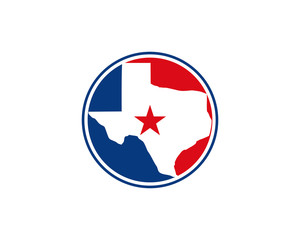 Texas Circle Logo Icon 1