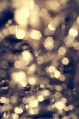 Luxury abstract bokeh defocused lights. Glitter vintage lights background.