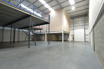 emty warehouse