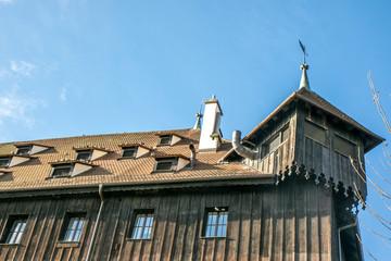 Altstadt, Häuserfront, Bodensee