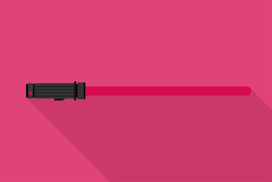Pinkes Lichtschwert
