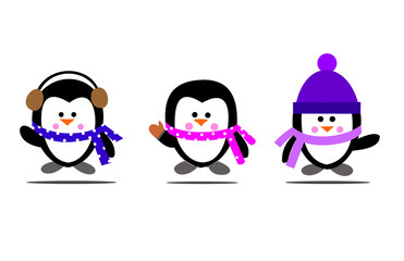 penguin cartoon caracter