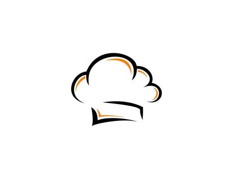 Cooking hat logo