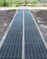 New steel drainage