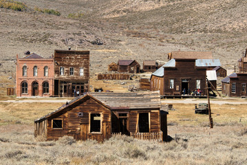Bodie Ghost Town a California State Park Wall mural
