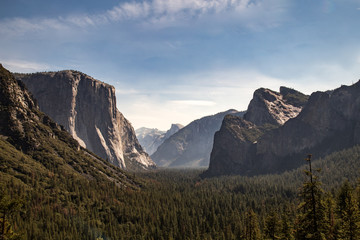 Tunnel View over look Yosemite National Park