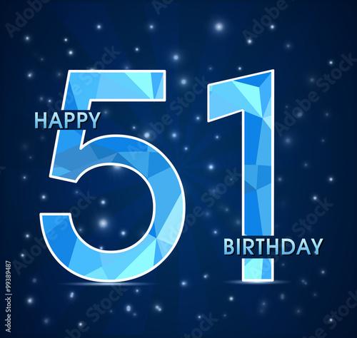 Поздравления днем рождения 51 год