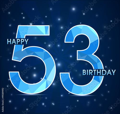 Поздравления с днем рожденья на 53 года 173