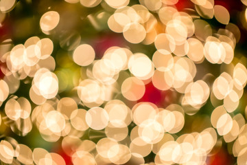 absrtact background of colorful Bokeh