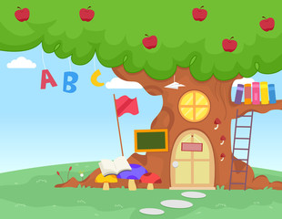 Apple Tree School Alphabet
