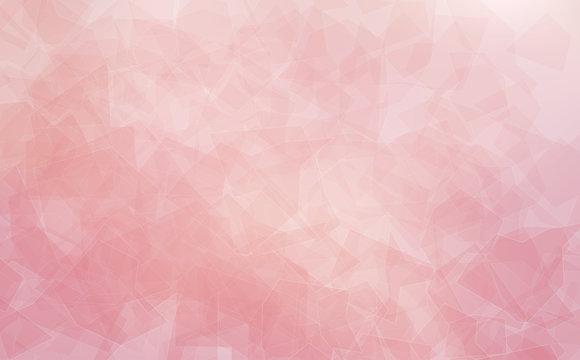 Close up of the surface of rose quartz
