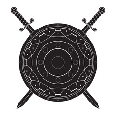 Shield with Swords.