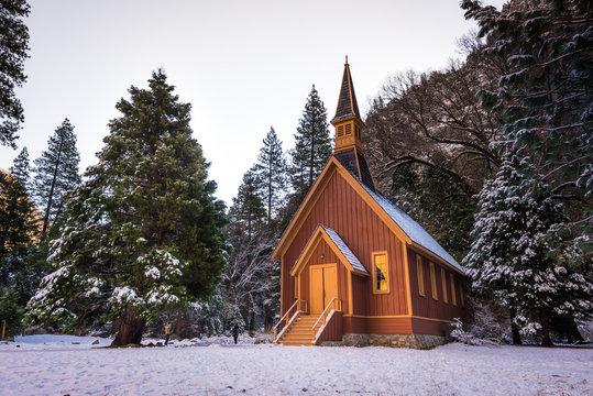 Chapel chruch in Yosemite